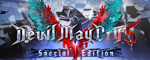Jeu de lancement de la PlayStation 5 Devil May Cry 5 Special Edition
