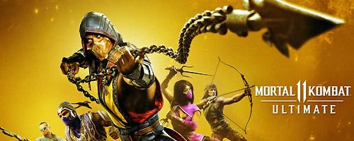 Jeu de lancement de la PlayStation 5 Mortal Kombat 11 Ultimate