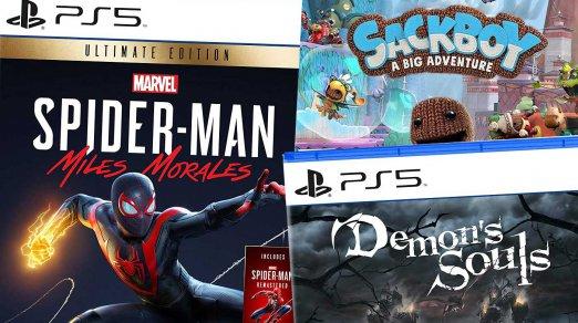 Les jeux de lancement PlayStation 5