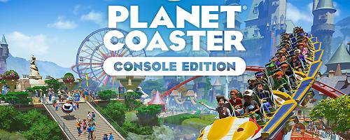 Jeu de lancement de la PlayStation 5 Planet Coaster Console Edition