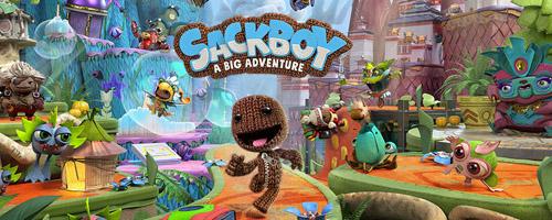 Jeu de lancement de la PlayStation 5 Sackboy