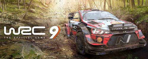 Jeu de lancement de la PlayStation 5 WRC9